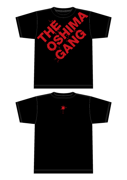 THE OSHIMA GANG Tシャツ