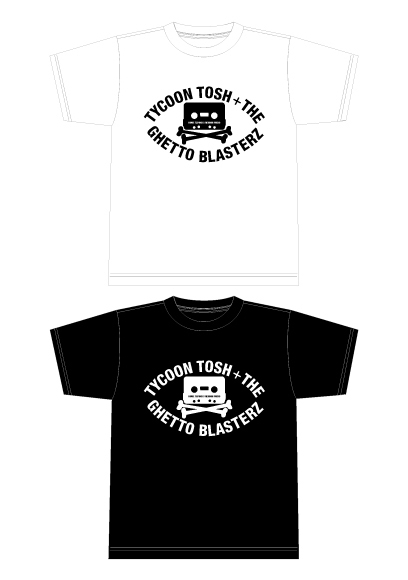 TYCOON TOSH+THE CHETTO BLASTERZ Tシャツ