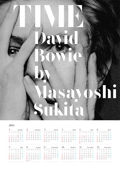 TIME David Bowie by Masayoshi Sukita カレンダー