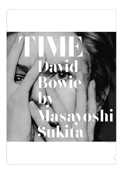 TIME David Bowie by Masayoshi Sukita クリアファイル