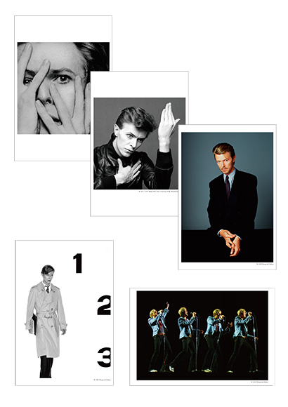 TIME David Bowie by Masayoshi Sukita ポストカード